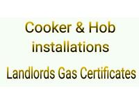 Gas engineer, Cooker & Hob Installations, Cooker fitting/, Landlords gas certificates. Plumber