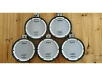 Roland PDX-8 drum pads set of 5 PDX8 mesh head pads