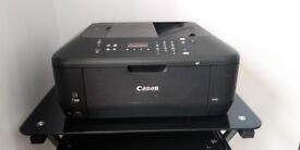 Black CANON 3in 1. Printer. Model No:- MX455.