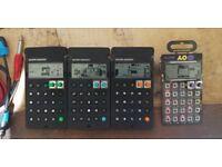 Teenage Enginering 4x Pocket Operators