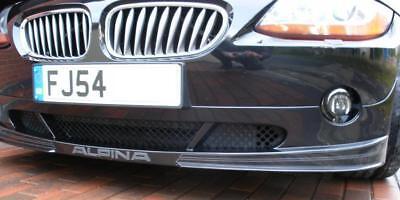 Alpina Roadster S front splitter spoiler graphic stripe logo kit vinyl gold
