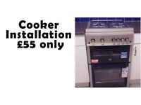 Gas safe engineer / Boiler installation & repair or breakdown / Cooker or Hob Installation / Plumber