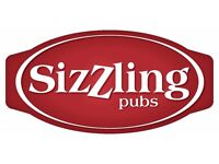 Bar Staff - Sizzling Pubs Chessington Oak