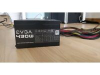 EVGA 430W PSU 80+ Bronze Rating ATX / Used for 2 months. NO DUST