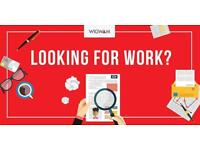 Labourer - £10/hr - Wolfson College Cambridge - Tues to Fri