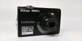 Nikon Coolpix S3000 12mp digital camera