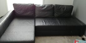 Ikea sofabed with storage compartment