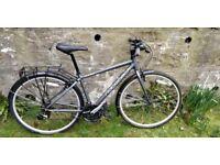 Ridgeback Speed Rapide hybrid/city bike - hardly used - mint condition