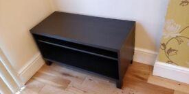 IKEA MOSJO TV bench Black-brown