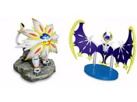 Solgaleo and Lunaala figurine - Pokemon Sun and Moon