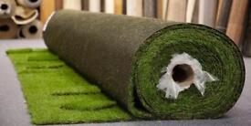 Half price,Artificial grass roll end, brand new35 mm thick , 6.5 x 3.2 ,was £360 now £180