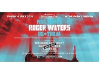 Exchange 2 tickets Gold Circle - BST Hyde Park - Roger Waters 06/JUL/18 for Eric Clapton 08/JUL/18