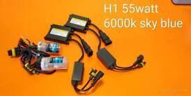 Xenon kit lights H1 55watt