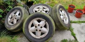 Vauxhall Carlton alloy wheels x4