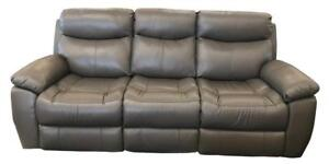 Genuine Leather 3 PC Recliner Set (ME706)