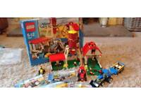 Lego City far set 7637 + red tractor additional set