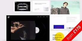 Minimal Web design from £175, Graphic design & Art Content