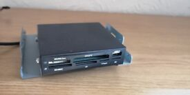SD card XD , M2 , MMC card reader in mint condition
