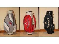 Three New Full Size Golf Bags