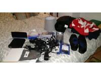 Job Lot - BT Router, PC Cables, Clothes, Shoes + More