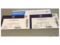 2 x UFC LONDON FIGHT NIGHT TICKETS £100 EACH (BOUGHT FOR £240 - see images)