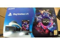 Sony Playstation VR Virtual Reality Headset and Camera £160