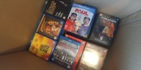 Job lot of 141 DVDs, Boxsets and BluRays (see ad for full list)
