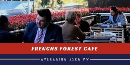 FRENCHS FOREST CAFE 35KG PW!!!