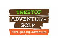 Team Member - Adventurista at Treetop Adventure Golf