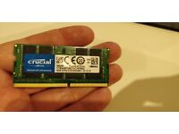 Crucial DDR4 2133 Laptop ram 8GB cheap