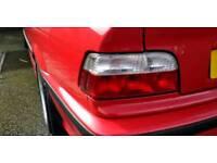 BMW e36 coupe 328i rear lights