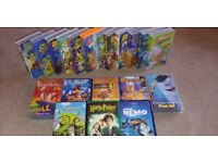 Selction of kids VHS cartoon tapes
