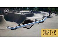 HoverSweg Skater One Wheel Hoverboard / Bluetooth Speakers / 12 Month Warranty