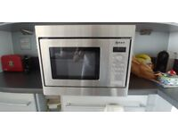 Neff H53W50N3GB Integrated Microwave Oven in Stainless Steel
