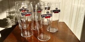 6 x Brand New in Box Felsgold Cider Tulip Tumblers Pint Glasses Beer