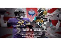 **NFL UK Baltimore Ravens vs Jacksonville Jaguars - SUPER Lower Tier Seats (104) - 24/09/2017**