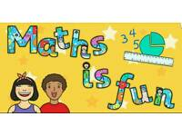 Mathematics and eleven plus tutor
