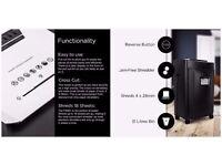 *BNIB RRP £199.99* 31 Litres Duronic PS991 High Performance Cross--Cut Shredder