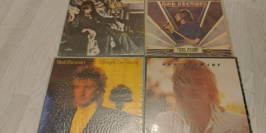 Rod Stewart records/l.ps