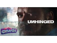 Outdoor film buddy 'Unhinged' new film tomorrow 6pm Tues 29 Sep 2020
