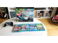 Wii U 32 GB with Pro Controller and 4 games