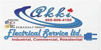 Licensed (Master) Electrician with affordable price and Quality