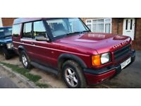Landrover Discovery td5 auto spares/repairs