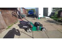 Qualcast petrol sef drive lawnmower just been serviced