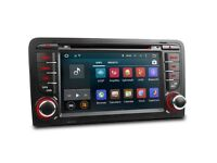 "7"" Android 5.1 Lollipop Bluetooth Stereo Car CD USB AUX DVD Player & Screen Mirroring Audi A3 / S3"
