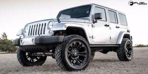 Fuel Vapor 20x10 Inch Rims for Jeep Wrangler (5Rim + 5Sensors + 5 BFGoodrich KO2 Tires $3100 + Tax) Zracig 9056732828