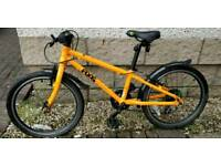 Super orange Frog bicycle/bike for boy/ girl, exc cond!