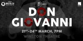 Bristol University Operatic Society Presents: DON GIOVANNI