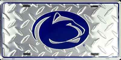 Penn State License Plate - PENN STATE CAR TRUCK TAG DIAMOND LICENSE PLATE METAL PENN ST NITTANY LIONS SIGN