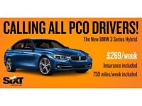 *PCO Rental* BMW 3 Series Hybrid for £269/week - all included!